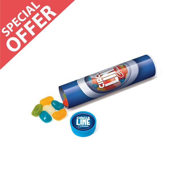Special Offer – Clear Tube Maxi – Jolly Beans