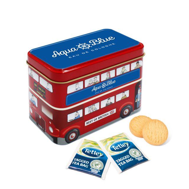 Bus Tin – Tea & Biscuits