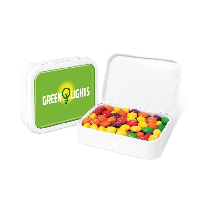White Sweet Tin – Skittles