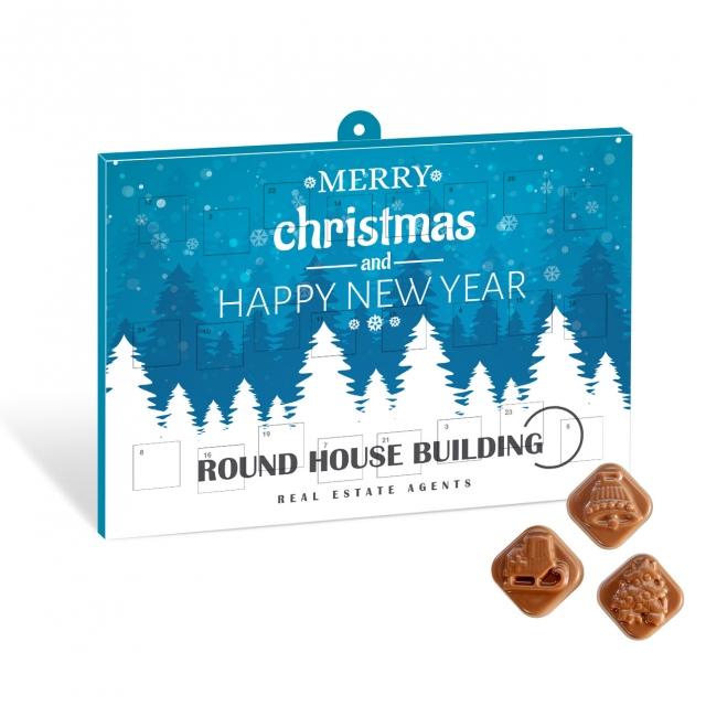 Winter Collection 2020 – Classic Calendar – Milk Chocolate – Maxi