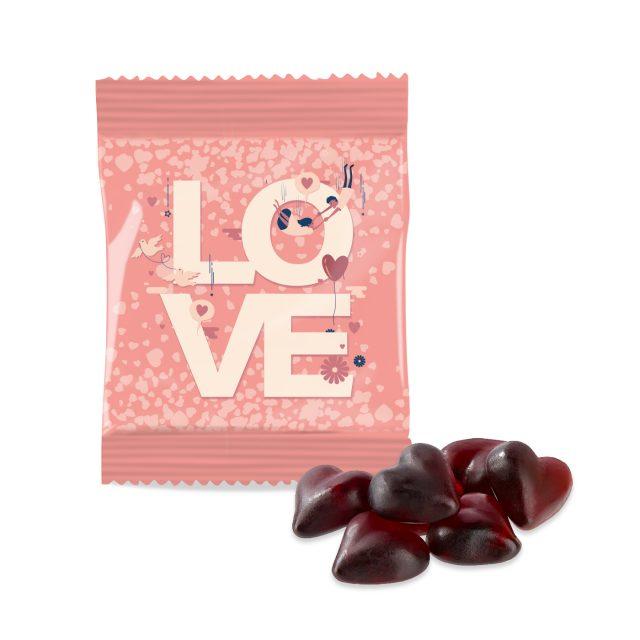 Kalfany – Kalfany Flow Bag – Kalfany Cassis Fruit Gum Hearts