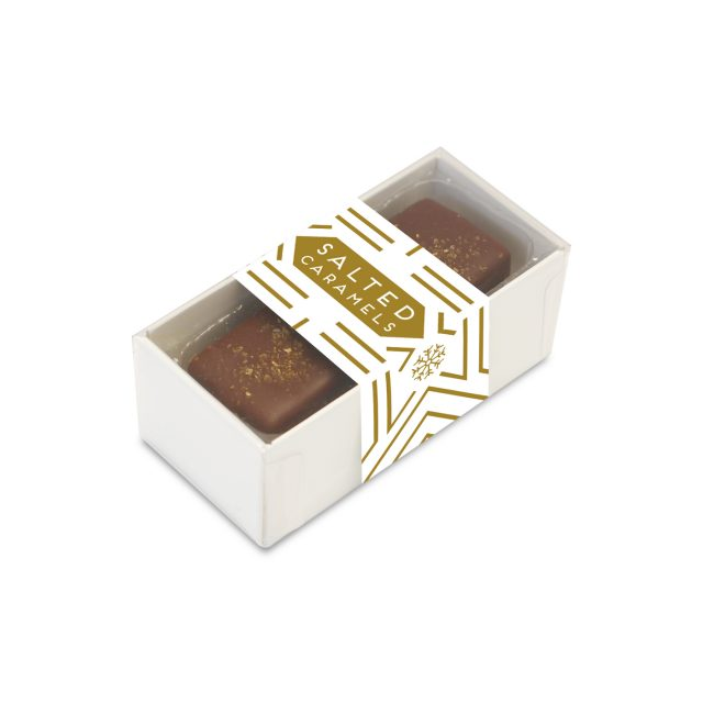 2 Choc Box – Dark Chocolate Salted Caramels