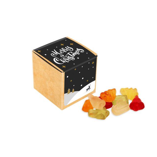 Winter Collection 2020 – Eco Kraft Cube – Kalfany Christmas Fruit Gums