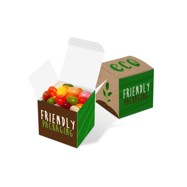 Eco Range – Eco Cube Box – Jelly Bean Factory®