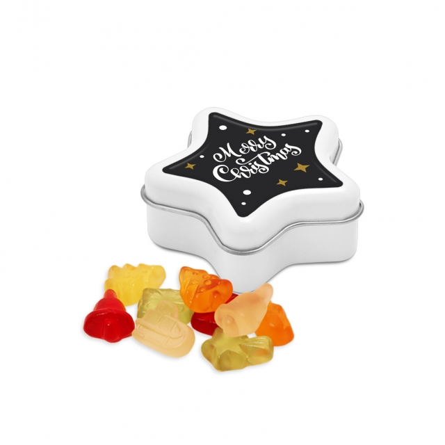 Winter Collection 2020 – Star Tin – Kalfany Christmas Fruit Gums