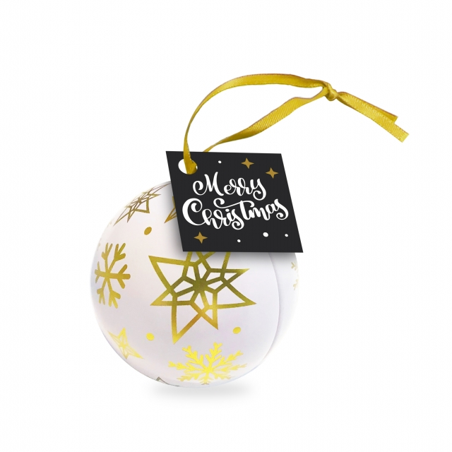 Winter Collection 2020 – Bauble Tin – Foiled Chocolate Balls
