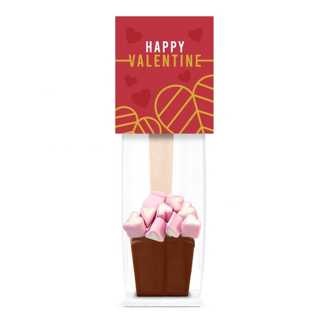 Valentines – Info Card – Hot Choc & Marshmallows