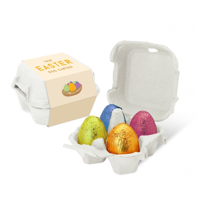 Easter – Egg Box – Gold Foiled Eggs